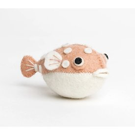 Craftspring Craftspring Big Puff Pufferfish - Pink