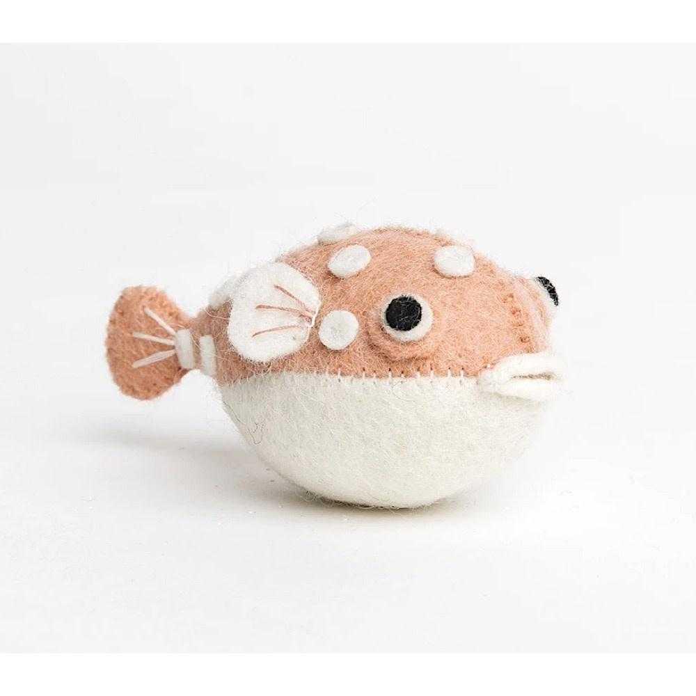 Craftspring Craftspring Big Puff Pufferfish - Pink