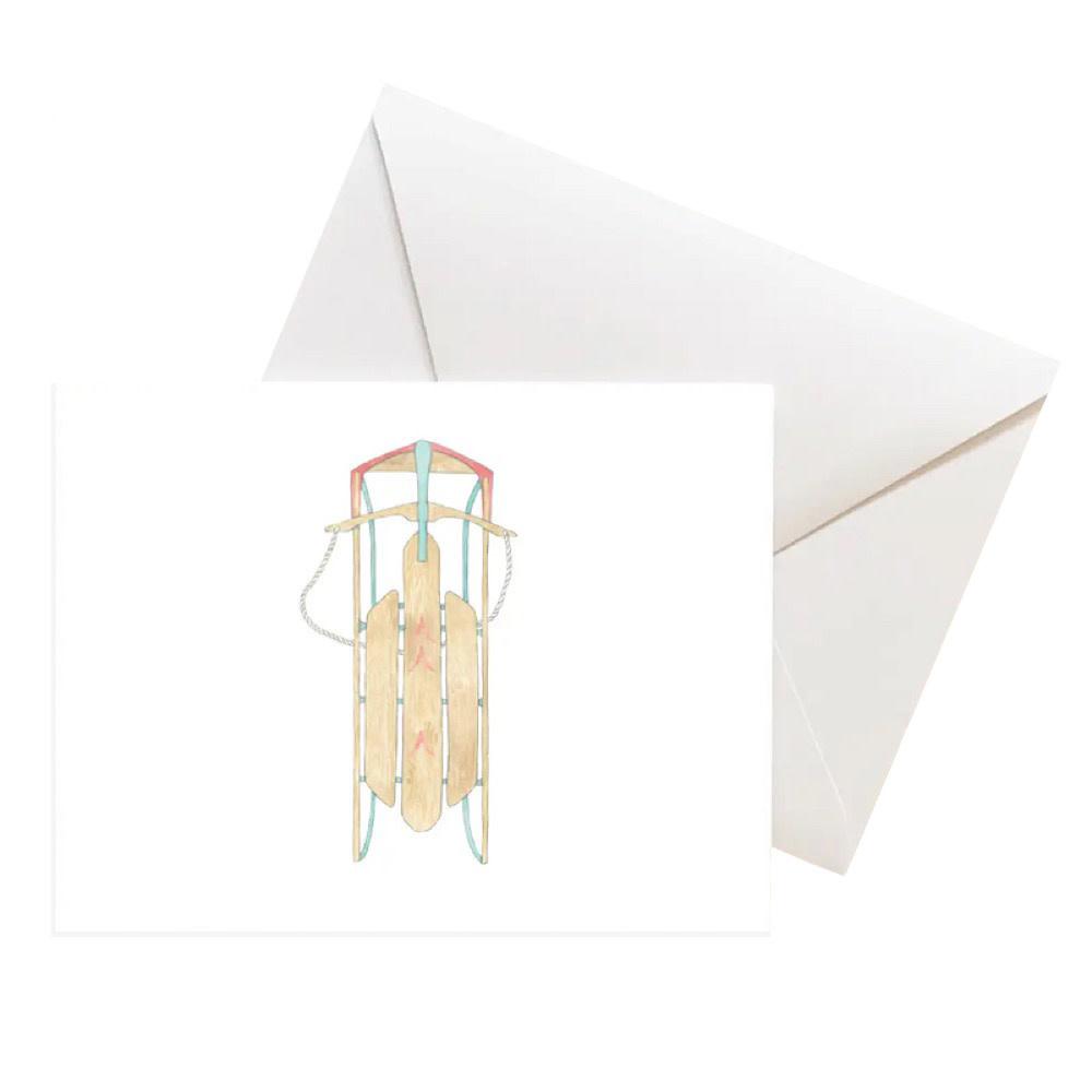 Sara Fitz Card - Sled