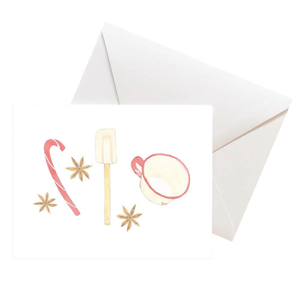 Sara Fitz Box of 8 Cards - Seasonal Baking