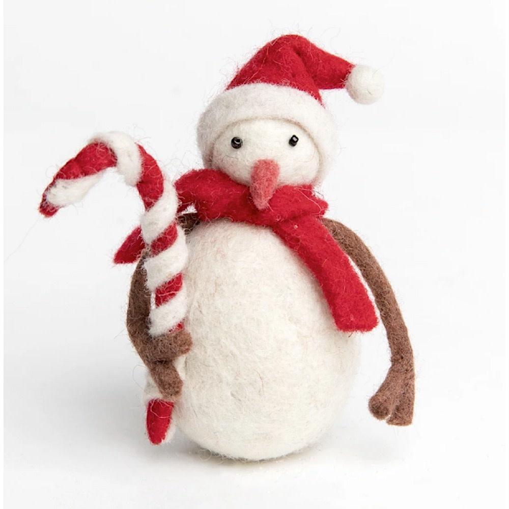 Craftspring Craftspring Candycane Snowman