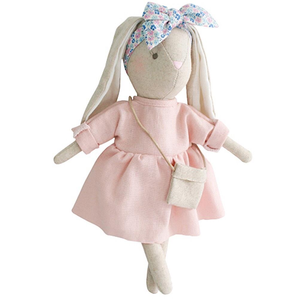 Alimrose Alimrose Mini Sofia Bunny - Pink