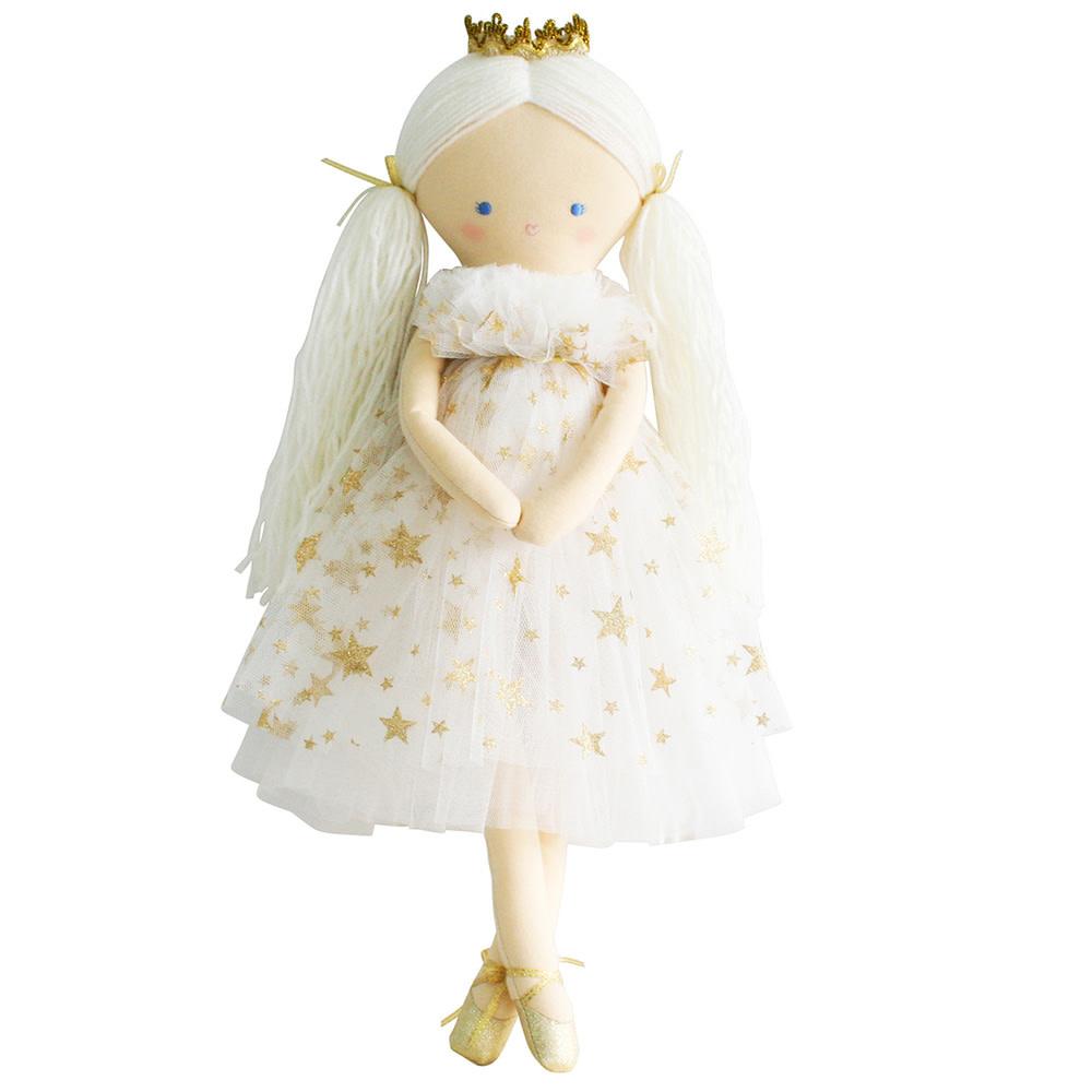 Alimrose Alimrose Penelope Princess - Gold Star Tulle