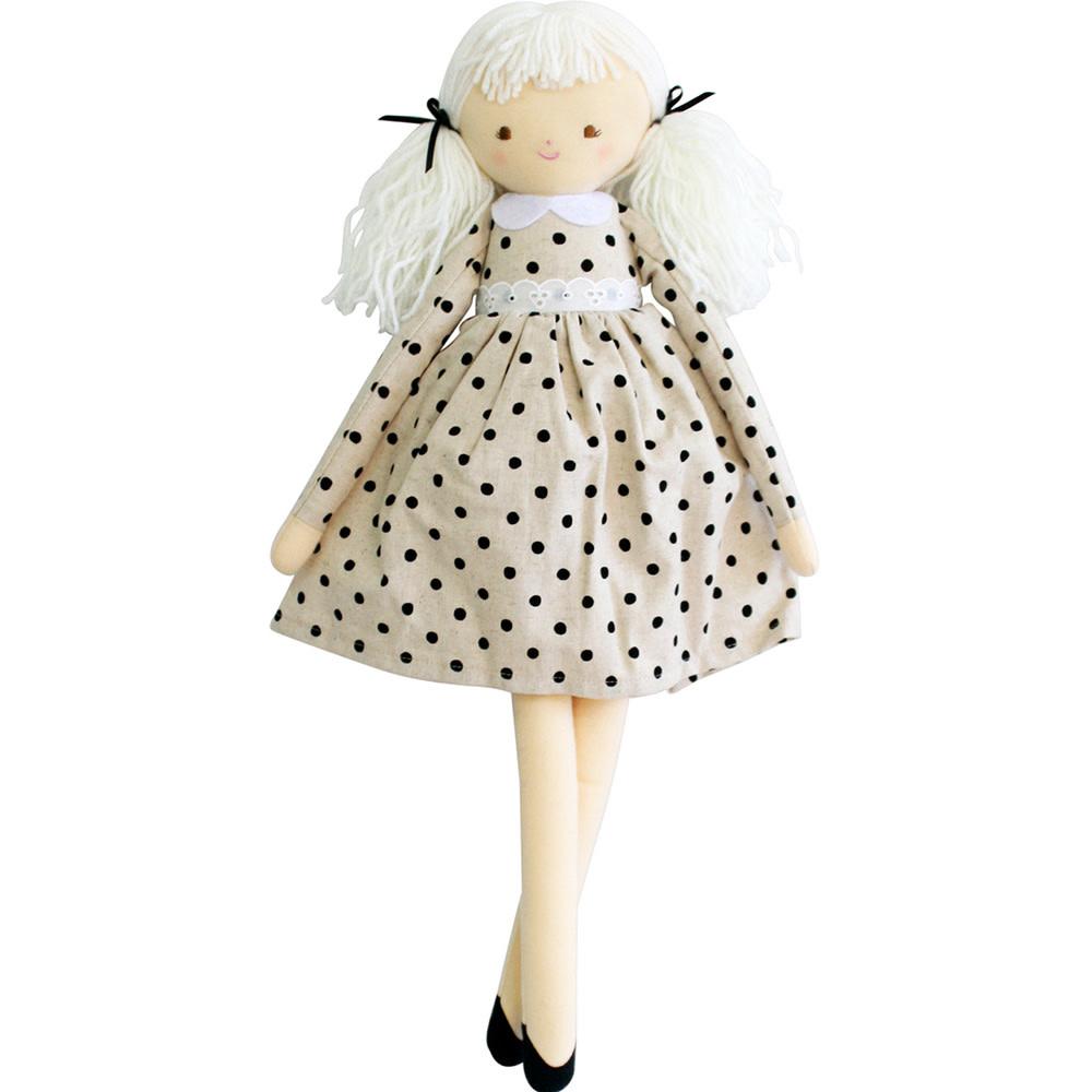 Alimrose Alimrose Pippa Doll - Black Spot