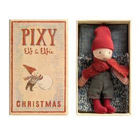 Maileg Maileg Pixy Elf in Box - Boy