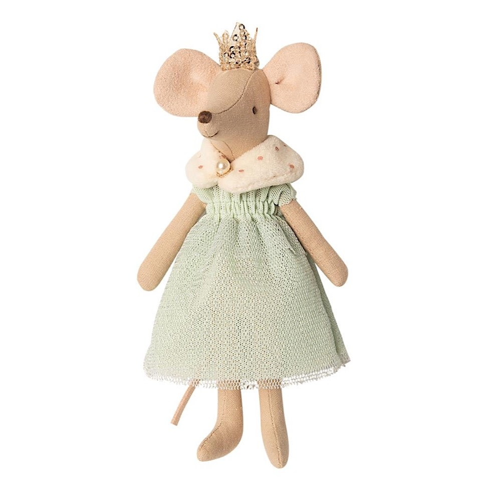 Maileg Maileg Mouse - Queen - Mint Dress