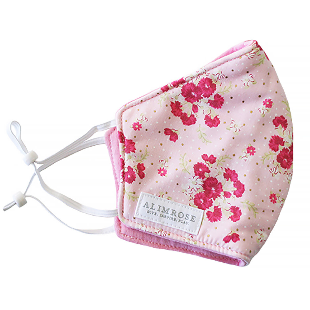 Alimrose Youth Mask - Berry Floral