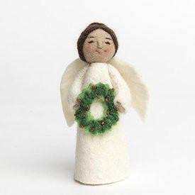 Craftspring Craftspring Holiday Joy Angel - Brown