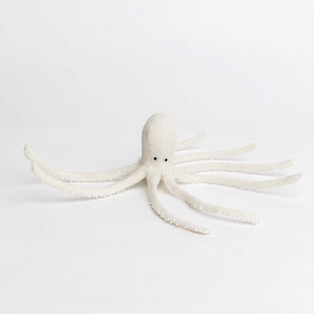Craftspring Long Legs Octopus White