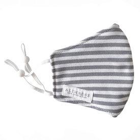 Alimrose Alimrose Adult Mask - Grey Stripe