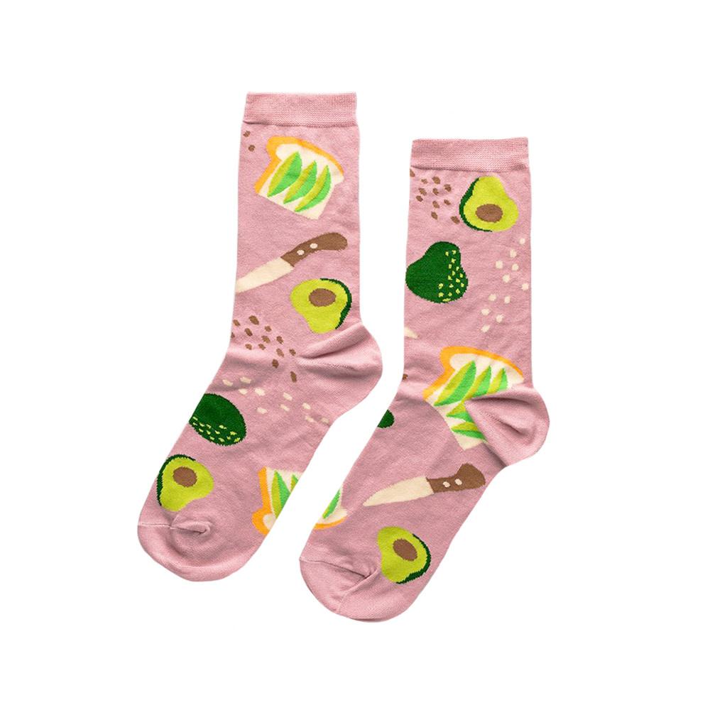 Yellow Owl Workshop Yellow Owl Workshop Socks - Avocado Toast