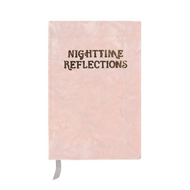 Printfresh Studio Printfresh Studio Journal - Blush Nighttime Reflections Mindfulness