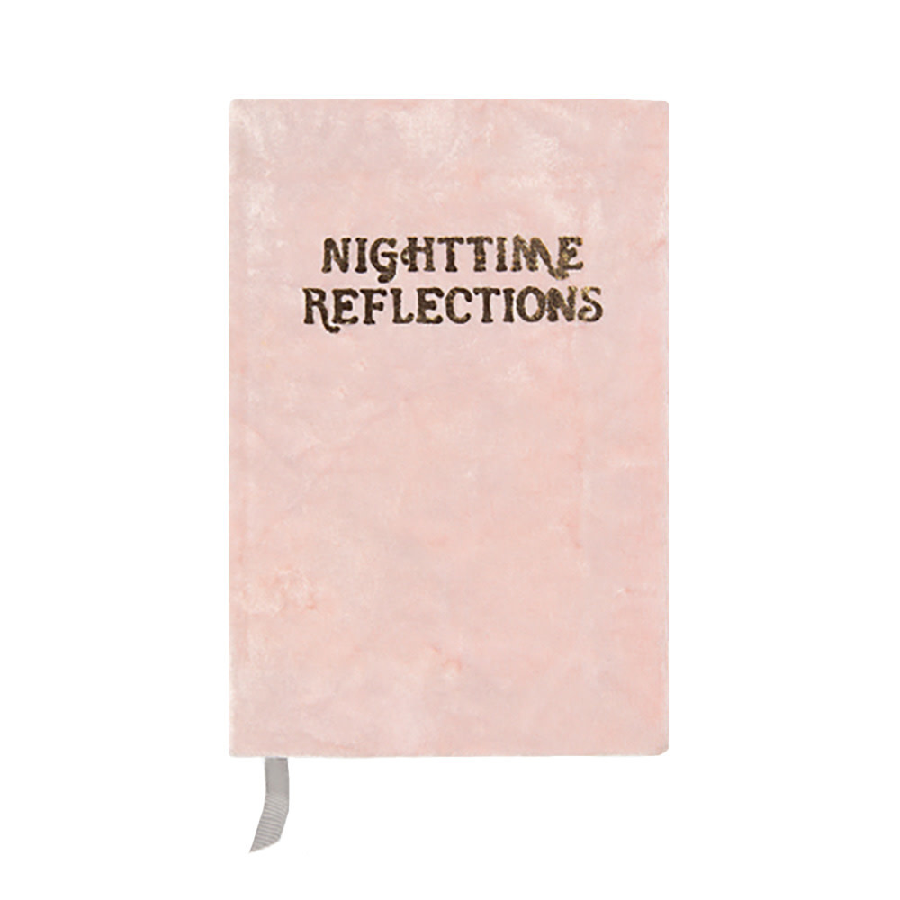 Printfresh Studio Journal - Blush Nighttime Reflections Mindfulness