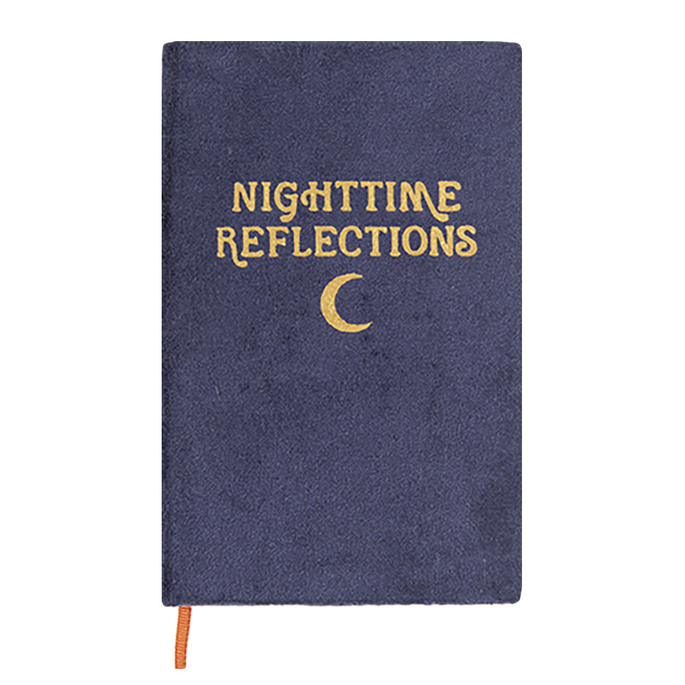 Printfresh Studio Journal - Navy Nighttime Reflections Mindfulness