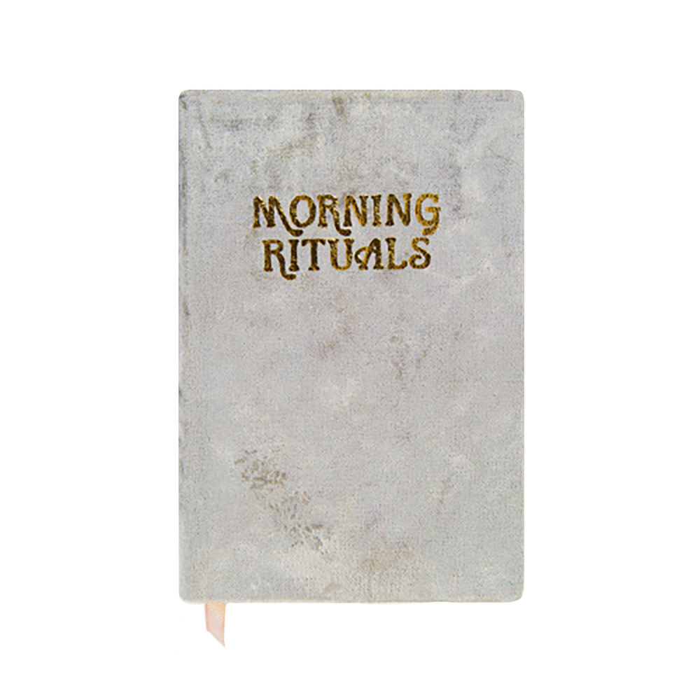 Printfresh Studio Journal - Grey Morning Rituals Mindfulness