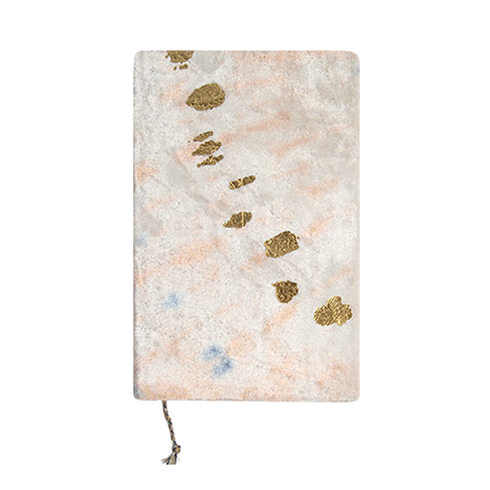 Printfresh Studio Printfresh Studio Journal - Blush Diagonal Tie Dye Medium Slim Velvet