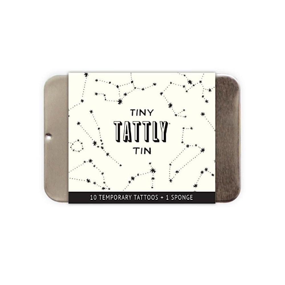 Tattly Tattoo Tiny Tin - Constellation