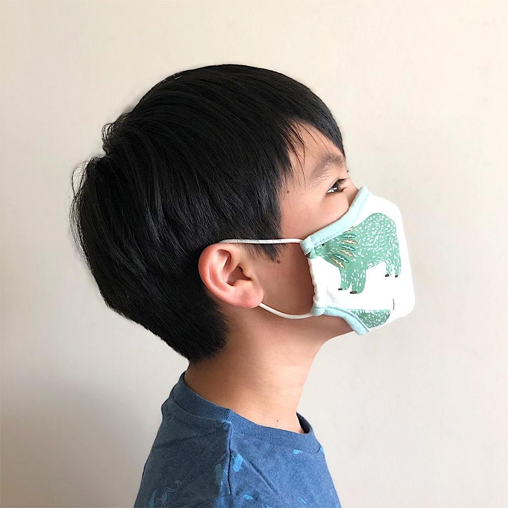 Cheengoo Kids Face Mask - Forest - Medium