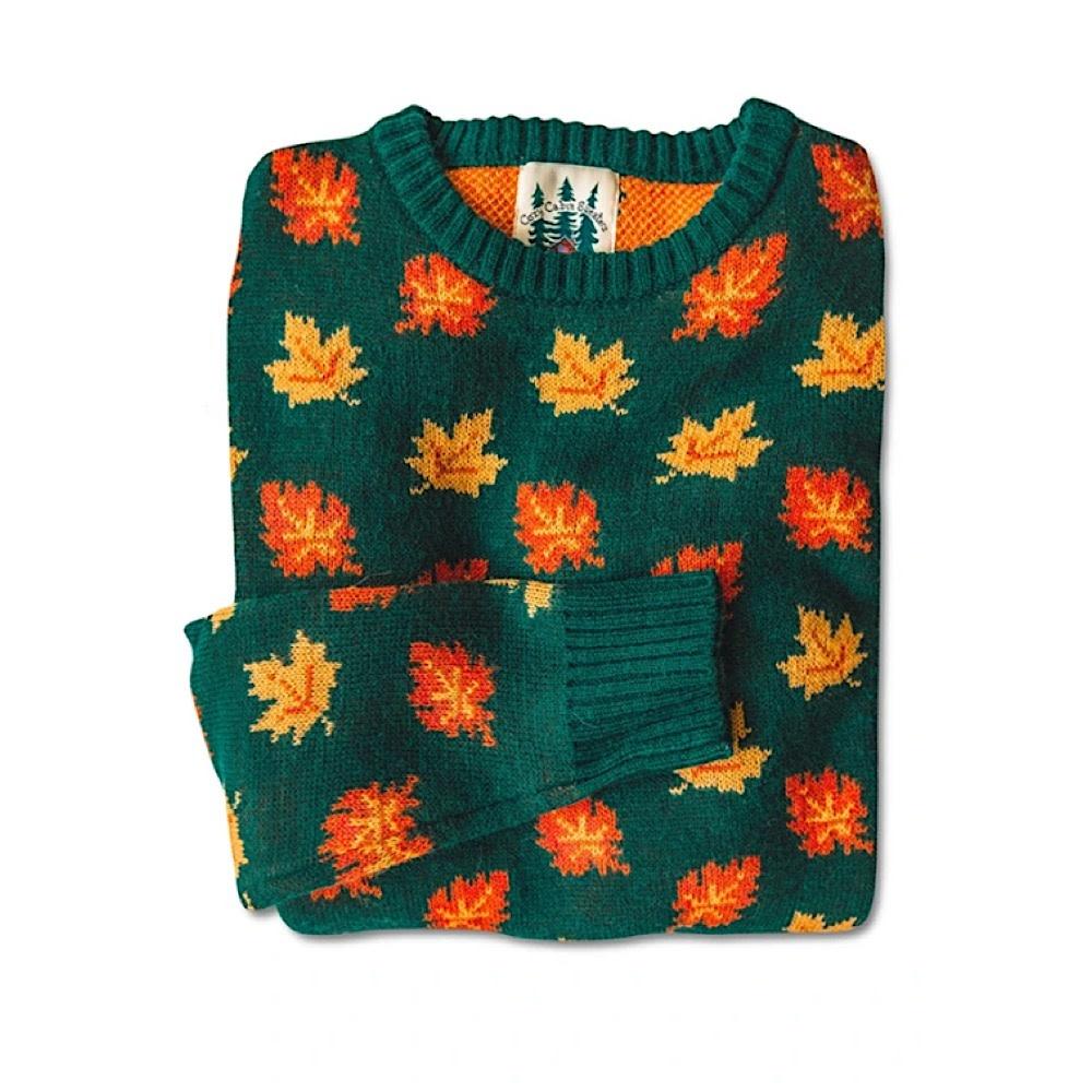 Kiel James Patrick Kiel James Patrick Sweater - Big Cozy Fall Leaf