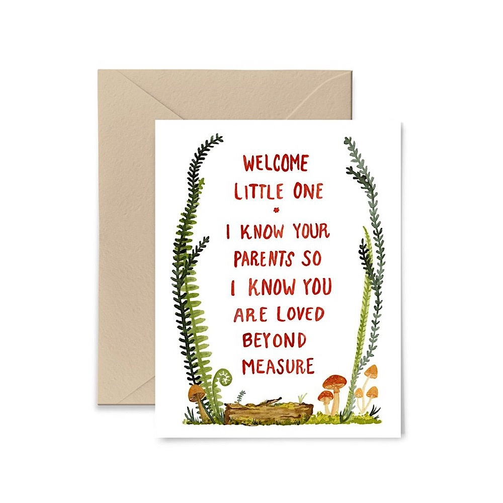 Little Truths I Know Your Parents Card