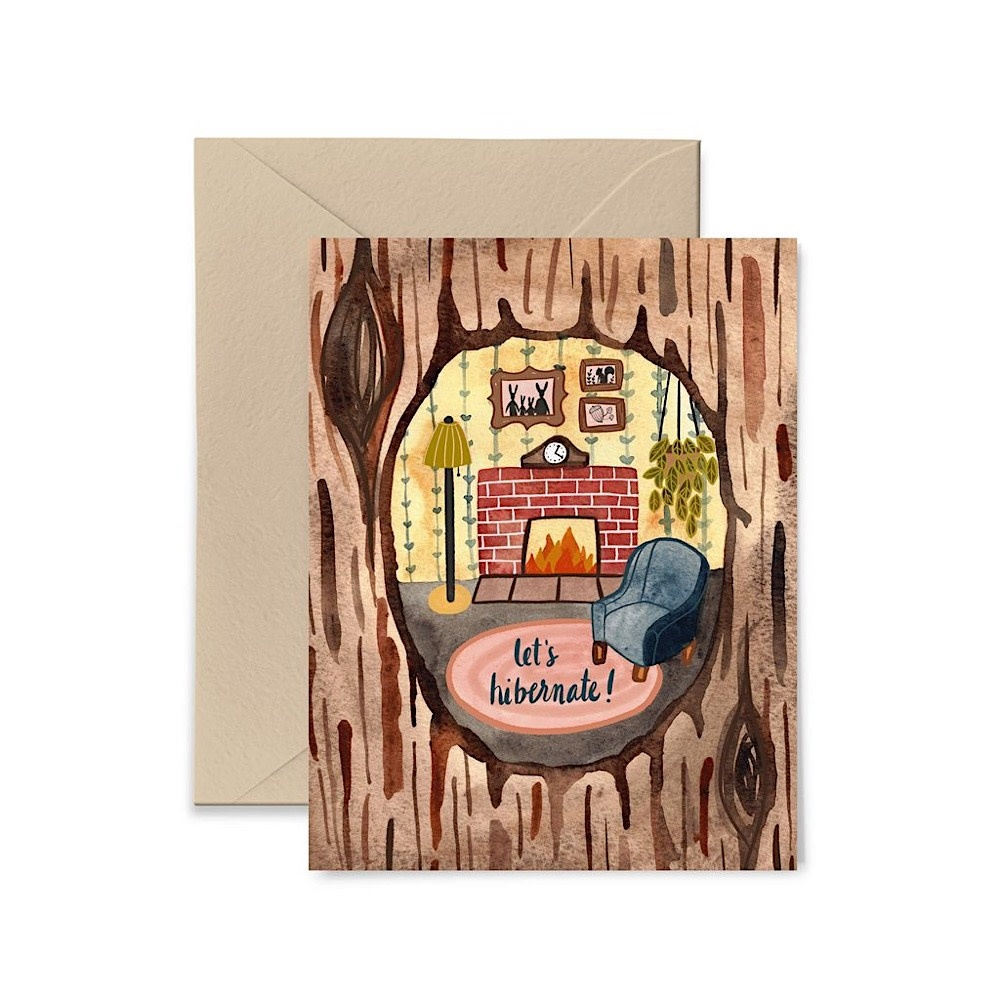 Buy Olympia Little Truths Lets Hibernate Card