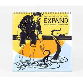 Buy Olympia Nikki McClure Wall Calendar - Expand: How We Intersect is Community 2020