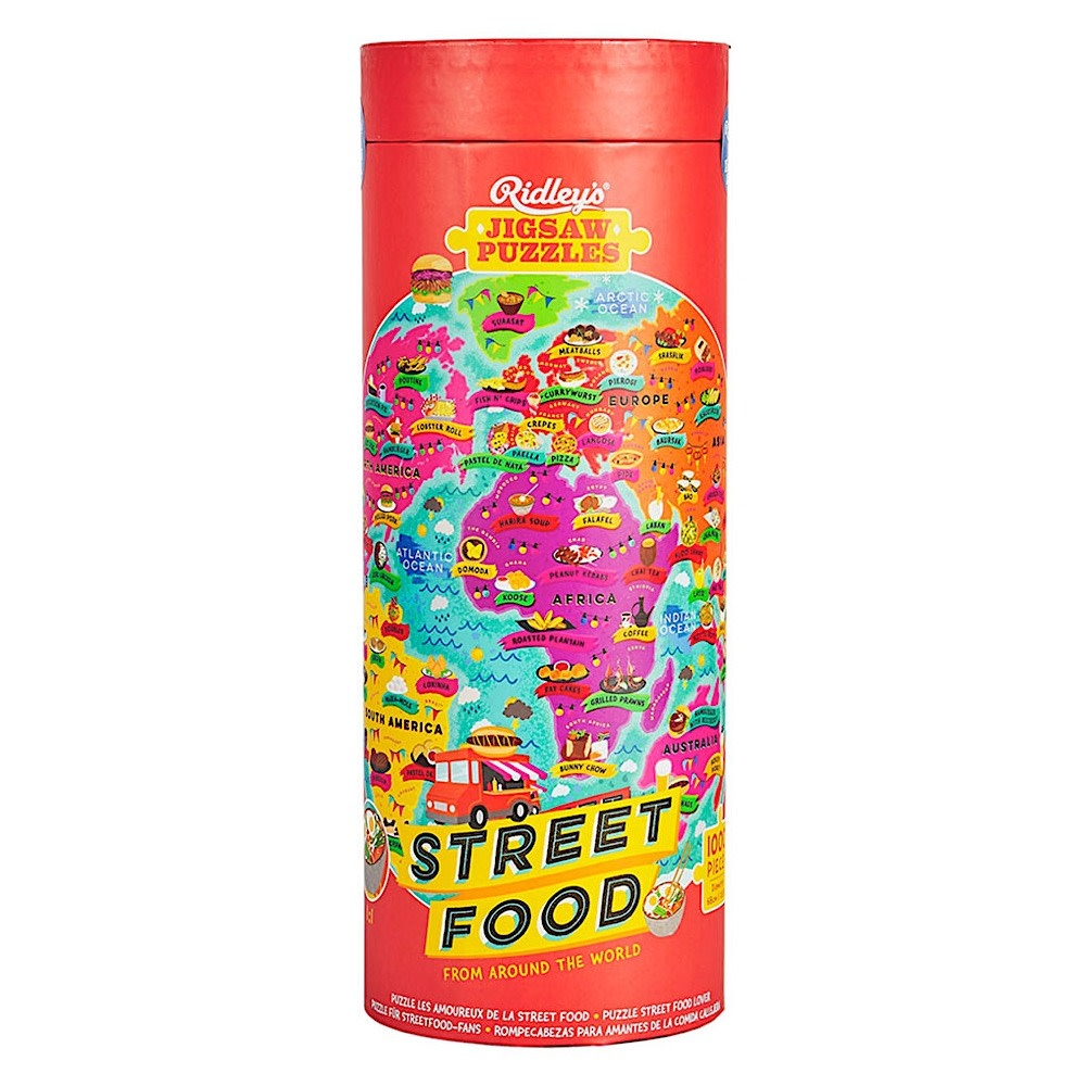 Street Food 1000 Piece Jigsaw Puzzle
