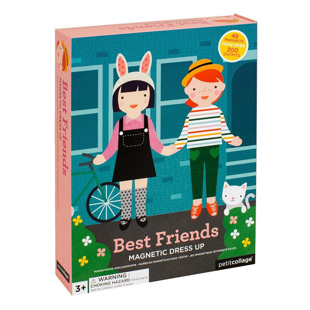 Petit Collage Magnetic Dolls - Best Friends