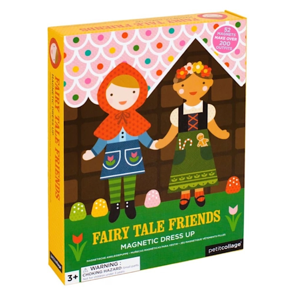 Petit Collage Magnetic Dress Up - Fairy Tales