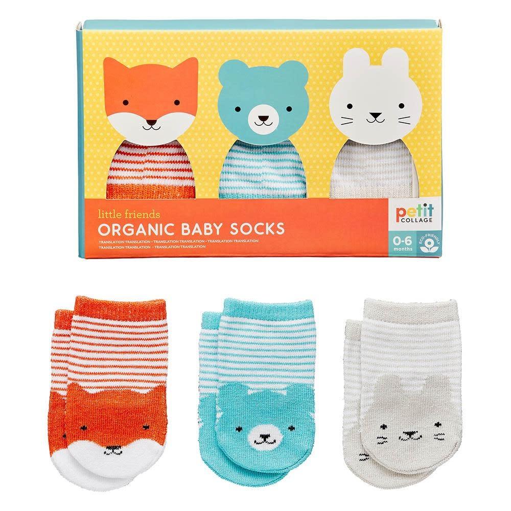 Wild & Wolf Organic Cotton Baby Socks