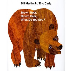 Macmillan Brown Bear, Brown Bear, What Do You See?  Board Book
