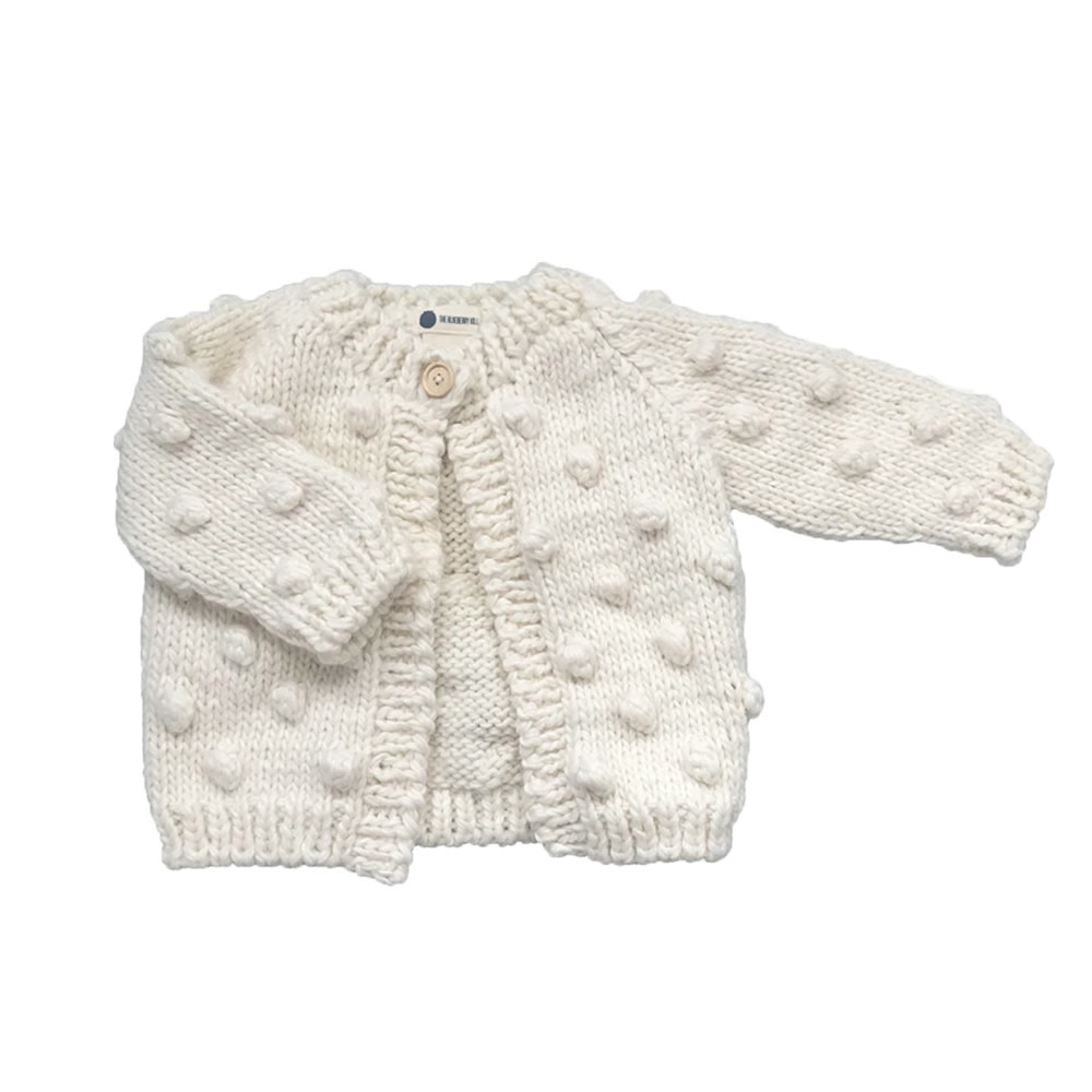 The Blueberry Hill The Blueberry Hill Popcorn Cardigan - Cream