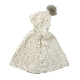The Blueberry Hill The Blueberry Hill Poncho - Cream