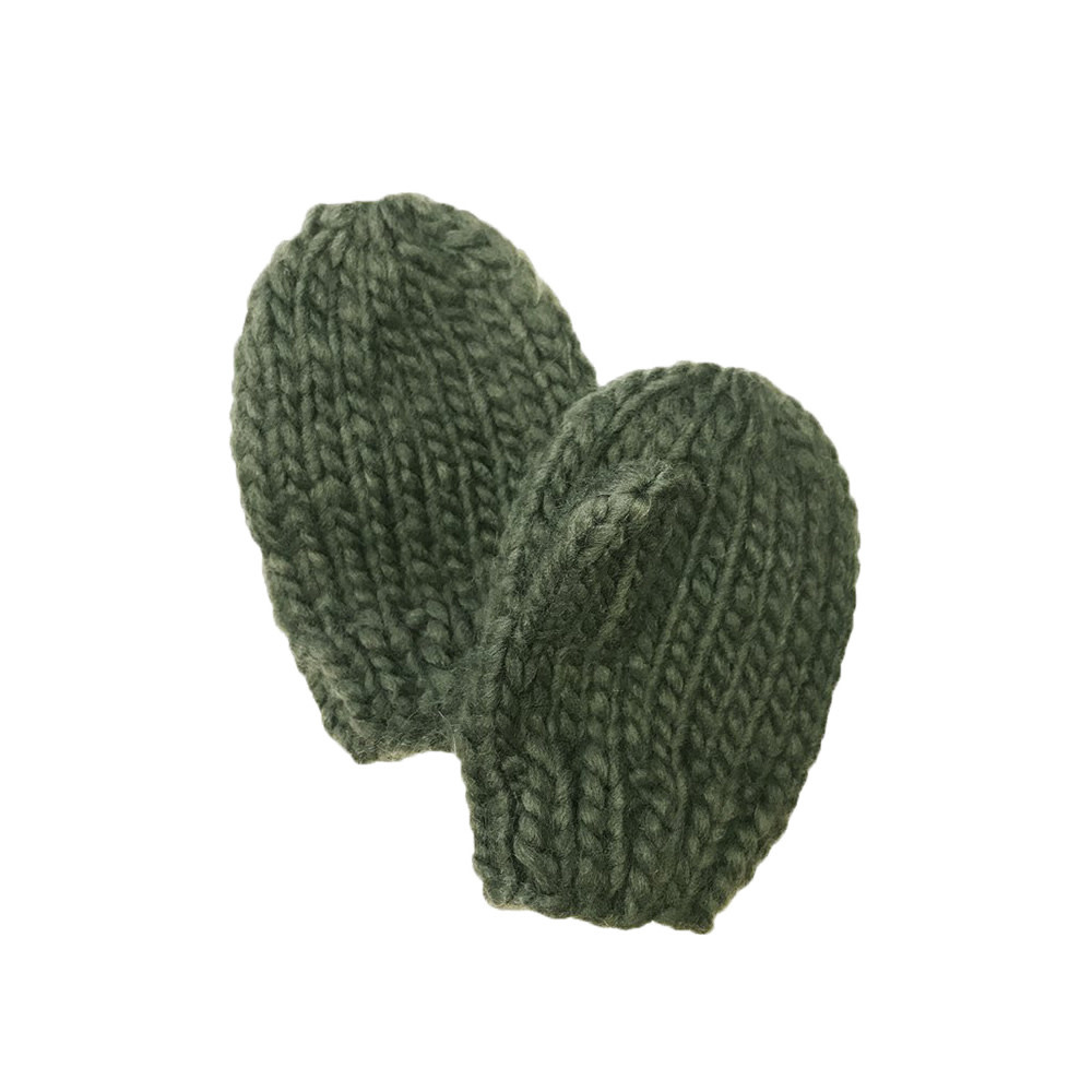 The Blueberry Hill Mittens - Green