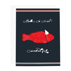 Ramus & Co Ramus & Co Card - Make A Wish Swedish Fish