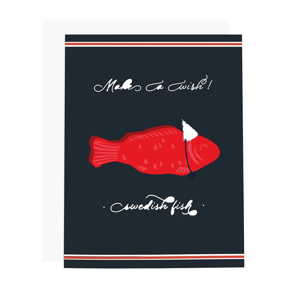 Ramus & Co Card - Make A Wish Swedish Fish