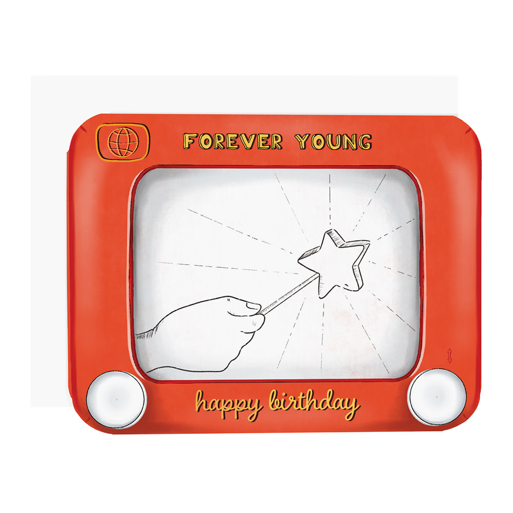 Ramus & Co Card - Forever Young Sketch Toy