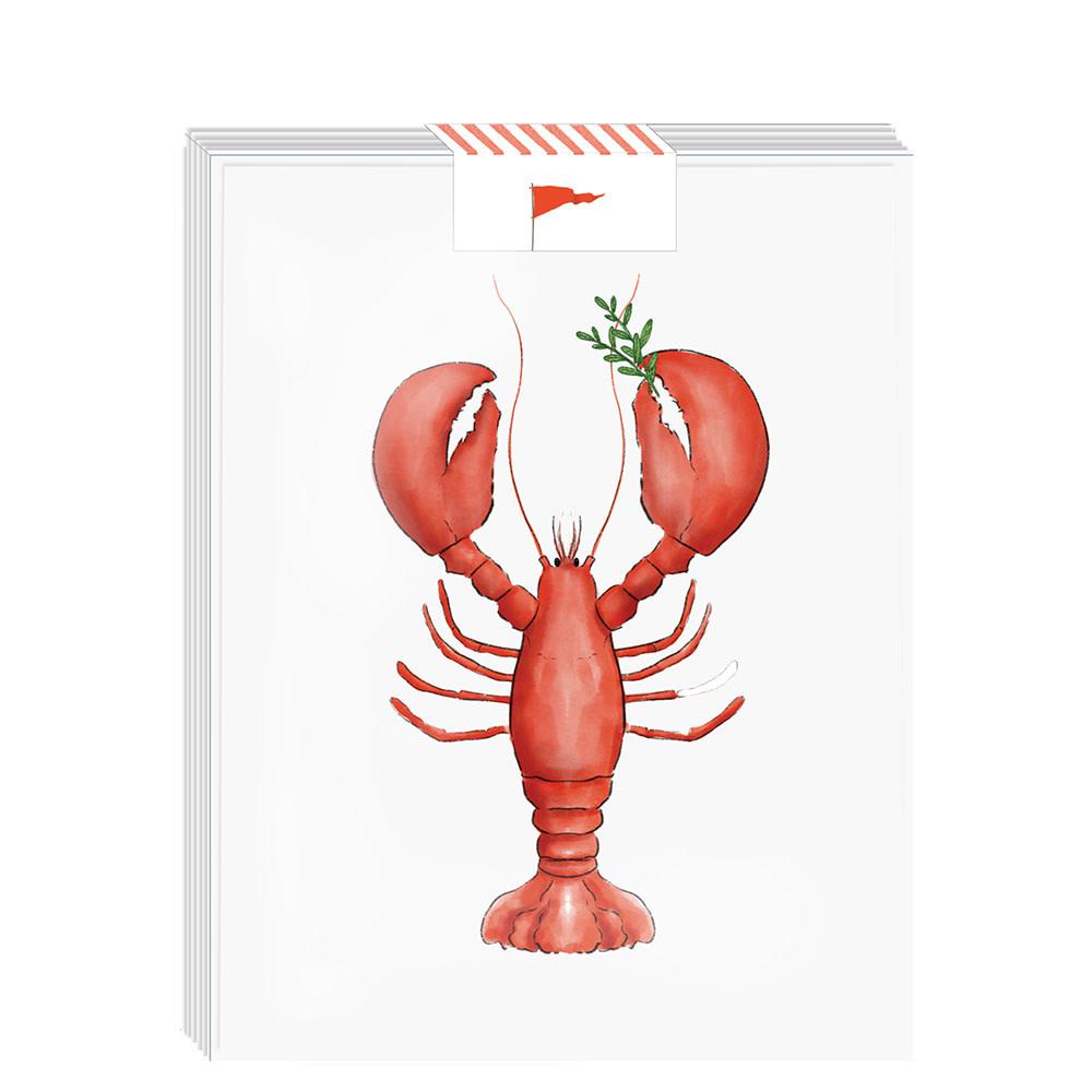Ramus & Co Ramus & Co Card Set of 8 - Lobstah