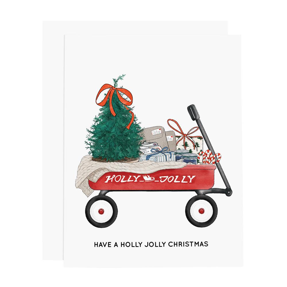 Ramus & Co Card - Christmas Wagon