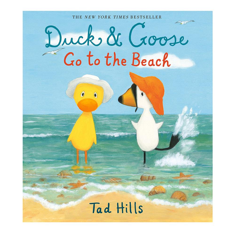 Duck & Goose Go to the Beach