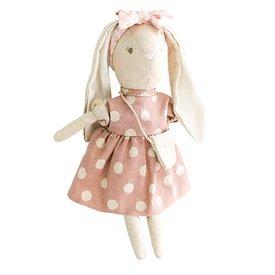 Alimrose Alimrose Mini Sofia Bunny - Mauve