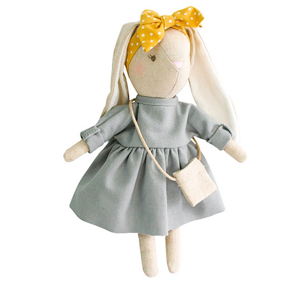 Alimrose Mini Sofia Bunny - Grey