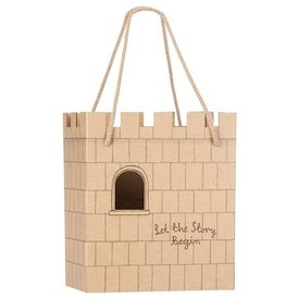Maileg Maileg Castle Paper Bag - Let The Story Begin