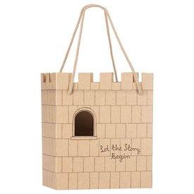 Maileg Maileg Castle Paper Bag - Let The Story Begin