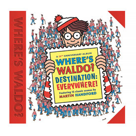 Random House Where's Waldo? Destination: Everywhere!: 12 classic scenes as you've never seen them before!