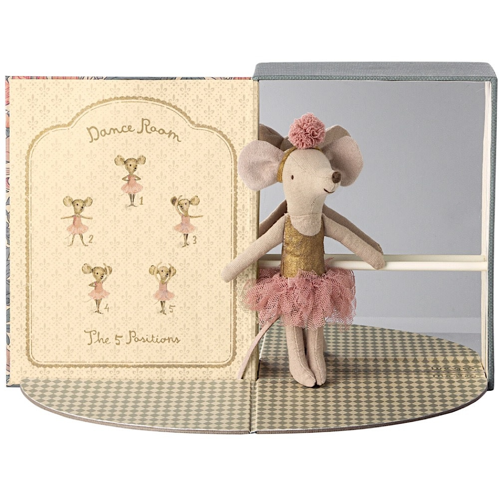 Maileg Mouse - Dance Room with Big Sister