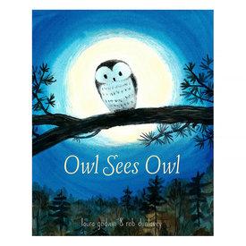 Random House Owl Sees Owl
