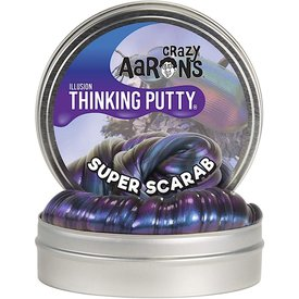 "Crazy Aaron's Crazy Aaron's Thinking Putty Mini - 2"" - Super Scarab Illusion"