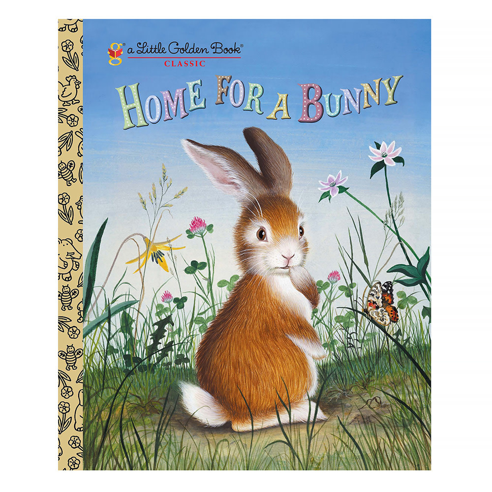Random House Home For A Bunny by Margaret Wise Brown - Big Little Golden Book