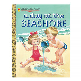 Random House A Day at the Seashore (Little Golden Book)